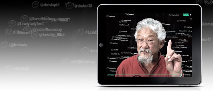 NFB Test Tube with David Suzuki